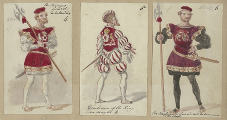 Costume designs for guards