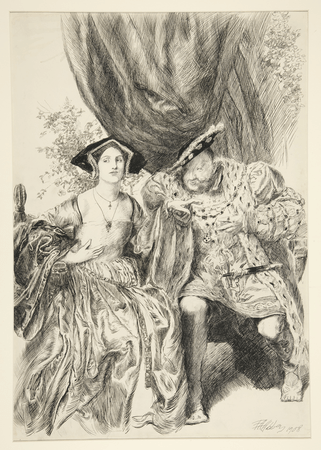 Henry meets Anne Boleyn