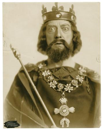 Robert Mantell as King John