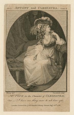 Elizabeth Pope as Cleopatra