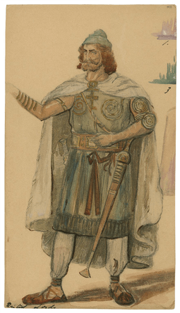 Costume design for British Lord