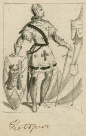 Costume design for Hotspur
