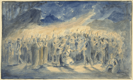 Illustrations for the Daly production of Cymbeline