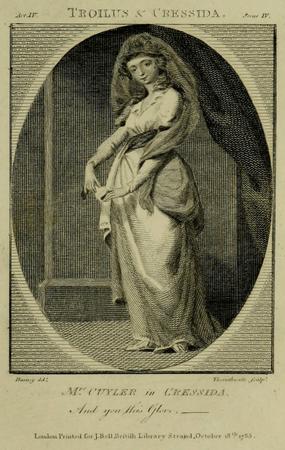 Margaret Cuyler as Cressida