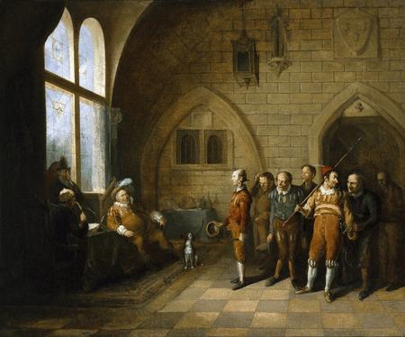 Falstaff choosing his recruits