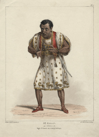 Edmund Kean as Othello