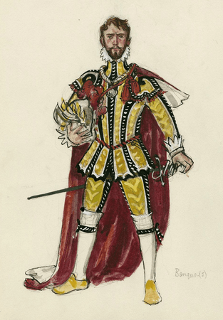 Banquo. Costume design