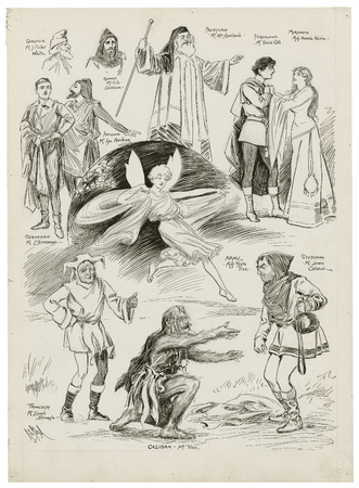 Scenes from The Tempest