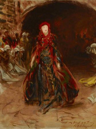 A Sketch of Dame Ellen Terry as Lady Macbeth