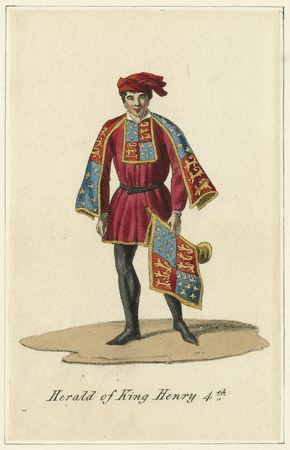 Costume design for a herald