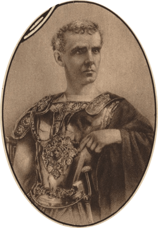 Lawrence Barrett as Cassius