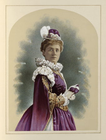 Ada Dyas as Princess of France