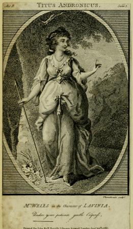 Mrs. Wells as Lavinia