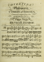 Songs, two duetts, & glees, in Shakspeare's Comedy of Errors
