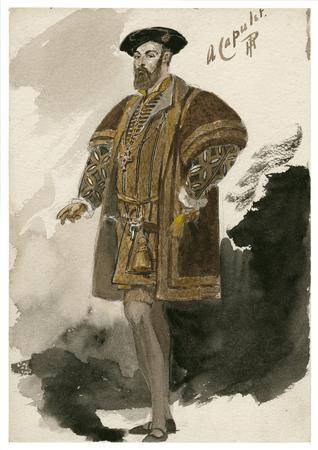 Costume design for a Capulet