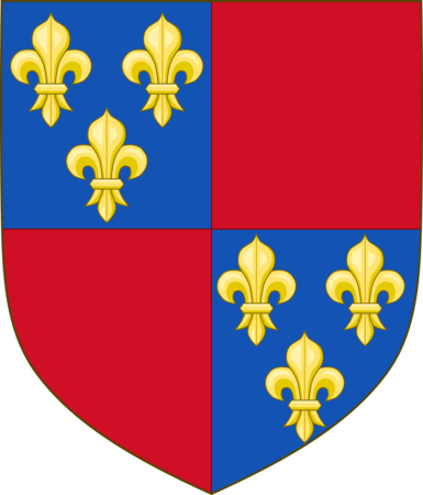 Coat of arms of Charles I of Albret, Constable of France