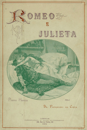 1894 Portuguese edition of Romeo and Juliet