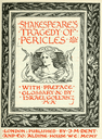 J.M. Dent and Company's 1898 edition of Pericles