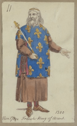 Costume design for Monjoy