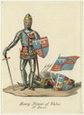 Costume design for Prince Henry