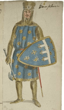 Costume design for Lewis the Dauphin