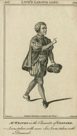 Thomas Weston as Costard