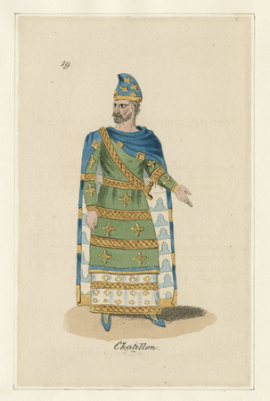 Costume designs for King John