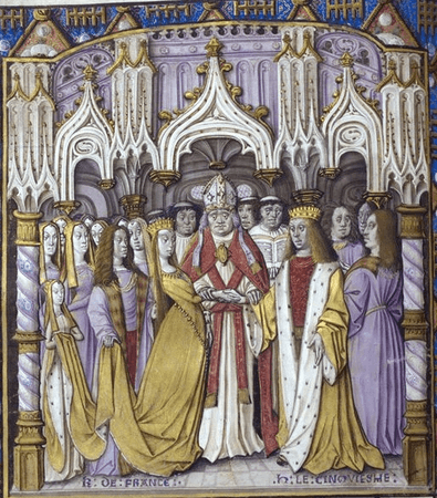 Marriage of Henry V of England to Catherine of Valois