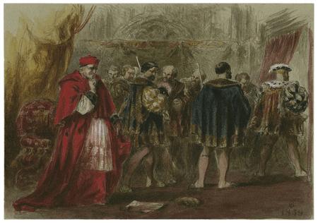 Dismissal of Cardinal Wolsey