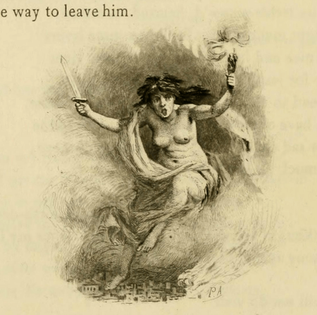 Page decoration from Duprant & Co. edition of Antony and Cleopatra