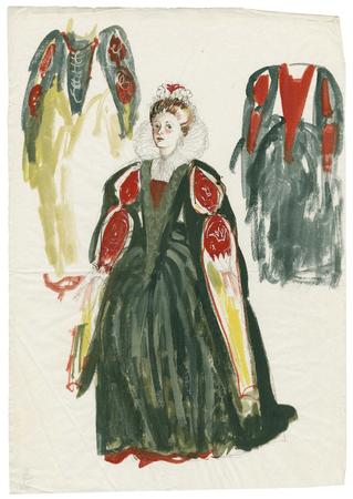 Costume design for Lady Macbeth