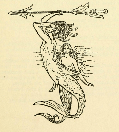 Decorative piece from Freemantle & Co. Edition of The Tempest