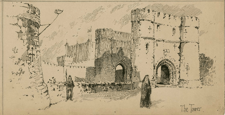 Set design for The Tower of London