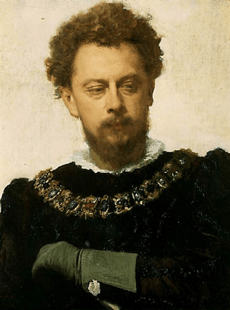 Alexandr Pavlovich Lensky as Petruchio