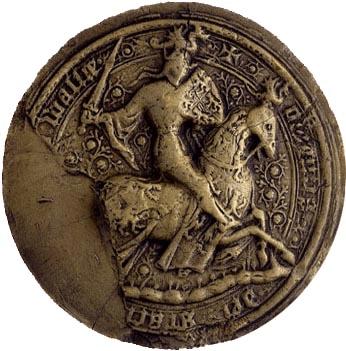 Seal of Owain Glyndŵr (Owen Glendower)
