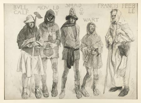 Bull Calf, Mouldy, Shadow, Wart, Francis Feeble