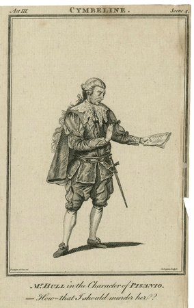 Thomas Hull as Pisanio