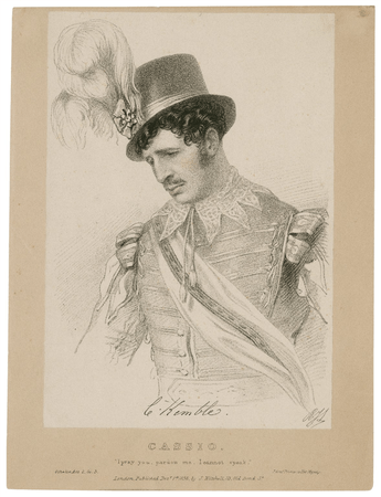 Charles Kemble as Cassio