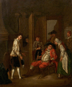 Scene in the Boar's Head Tavern