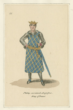 Costume designs for King of France