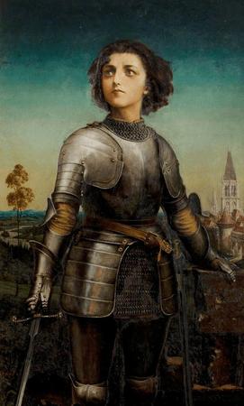 Alice Maud Mary Arcliffe as Joan of Arc