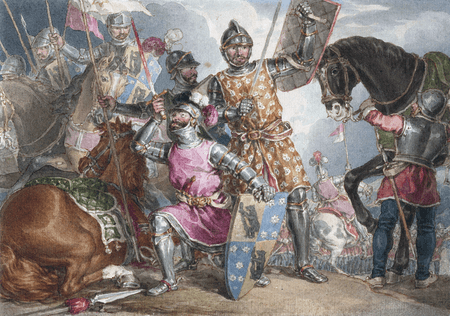 Warwick, Edward, and Richard at the Battle of Towton