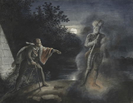 Ghost and Hamlet