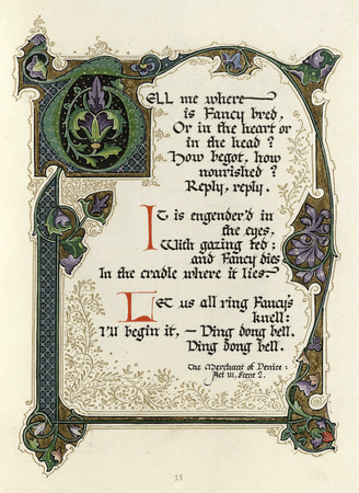 Songs and sonnets of William Shakespeare