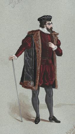 Costume study for Grumio