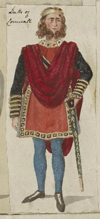 Costume design for Duke of Cornwall