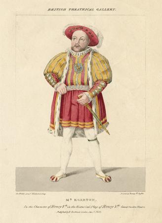 Daniel Egerton as Henry VIII