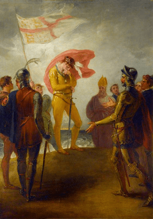 The Landing of Richard II at Milford Haven