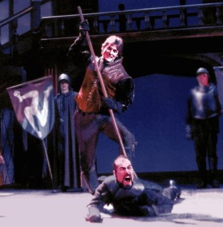 Virginia Shakespeare Festival production of Richard III