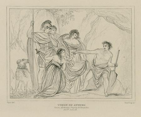 Timon, Alcibiades, Phrynia & Timandra